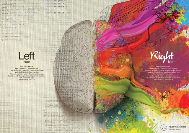 Left Brain Right Brain Mercedes