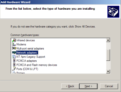 how to add a loopback adapter in windows 10